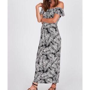 Amuse Society Lucia Maxi Dress NWT